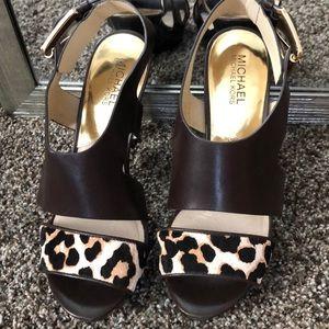 Michael Kors cheetah dress heels